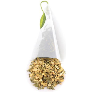 Tea Forte Ginger Herbal Tea Infusers - 2 Infusers Small Tin
