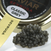 Sevruga Classic Grey Caviar - Malossol, Farm Raised - 0.50 oz, glass jar