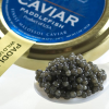 American Paddlefish Caviar - Malossol - 0.50 oz, glass jar