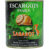 Escargot Helix (Escargot de Bourgogne) - Extra Large in Water - 28 oz (6 dozens)