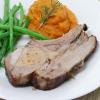 Berkshire Pork 8-Bone Loin Rack Roast - 1 rack, 5.5 lbs