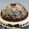Hazelnut and Dark Chocolate Bombe - 3 layer, 10-inch cake (14 slices)
