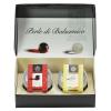 Gift Box: White Balsamic Pearls and Balsamic Pearls - 2 jars - 1.7 oz each