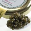 Osetra Karat Amber Russian Caviar - Malossol, Farm Raised - 0.50 oz, glass jar