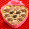 Leonidas Pink Heart Collection - Heart Shaped Box, 12 pieces