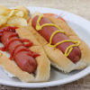 Bison Hot Dogs, Skinless - 6 inch - pack of 8, 3.2 oz ea