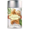 Tea Forte Ginger Lemongrass Herbal Tea - Loose Leaf Tea - 50 Servings Canister