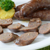 Elk Sausages with Apple, Pear and Port Wine - 12 oz pack, 4 links