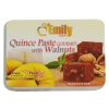 Quince Paste with Walnuts - 8.8 oz wooden box