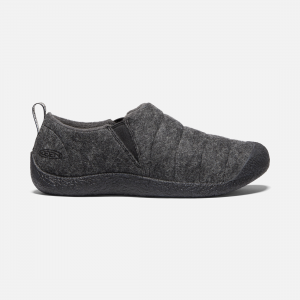 Quilted nylon is lined with plush microfleece for warmth without bulk. A memory foam footbed forms to your foot while cushioning every step, and the rubber outsole stands up to outdoor wear. | Keen Women\\'s Howser II Shoes Size 5.5, In Fuwafuwa Pastry.