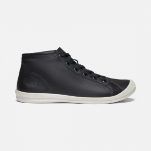 From brunch to work lunch, this women\\'s leather chukka boot spans it all. With premium, environmentally preferred leather, direct-attach construction to minimize glue, and our lighter-than-air Luftcell outsole. | Keen Women\\'s Lorelai Chukka Boots, 5.5, Black.