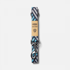 Give your best friend a new leash on life...but one that\\'s recycled. Made from recycled plastic bottles-the same webbing used in our SOLR sandals (if you wanna match your pup, we totally dig it). | Keen Dog Leash, In Navy/Blue Mist.