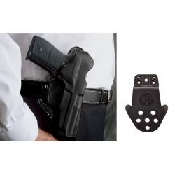 """DeSantis Springfield XD 9, 40 4"""" The Viper Paddle Holster-Style 065, Left Hand, Tan"""