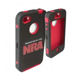 Allen NRA iPhone 4/4S Cell Phone Case - Black/Red