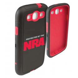 Allen NRA Galaxy S4 Cell Phone Case - Black/Red