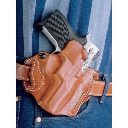 DeSantis Style 002 Speed Scabbard Walther PPQ Tan Right Hand 3 Slot