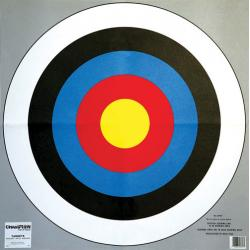 "Champion Archery Target - 24"" Bullseye, 2/Pack"