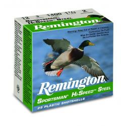 Remington Sportsman Hi-Speed Steel Shotshells 20ga 2-3/4 in 1425 fps 3/4 oz #7 25/ct