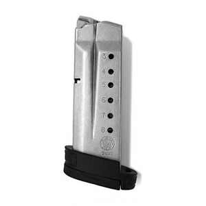 Smith & Wesson M&P9 Shield Magazine 9mm Stainless Steel 8/rd