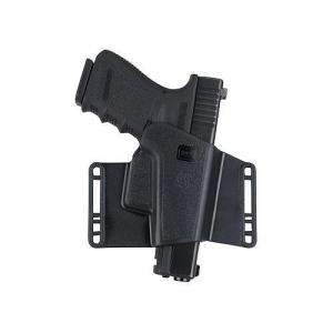 Glock Sport Combat Holster Fits Glock G17, G19, G26, G34, G22, G23, G27, G35, G31, G32, G31 / 9mm .40 cal, .357 Glock – Black