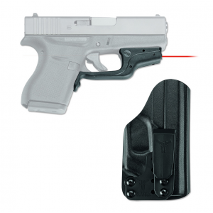 Crimson Trace Laserguard LG-443H Red Laser with Blade-Tech IWB Holster for Glock 43