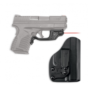 Crimson Trace Laserguard LG-469/GH Red Laser with Blade-Tech Klipt IWB Holster for Springfield XD-S