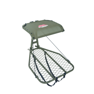 MIllennium M25 Steel Hang-On Tree Stand W Footrest Includes Safe-Link 35′ Safety Line
