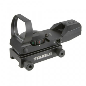 Truglo Dual Color Open Red-Dot Sight – 5 MOA Reticle Matte