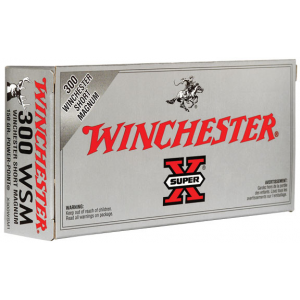Winchester Super-X Power Point Rifle Ammunition .300 WSM 150 gr PSP 3270 fps – 20/box
