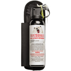Sabre Frontiersman Bear Spray and Attack Deterrant with Holster