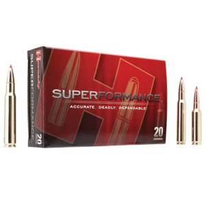 Hornady Superformance Rifle Ammunition .35 Whelen 200 gr SP 2910 fps – 20/box