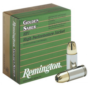 Remington Golden Saber Handgun Ammo .357 Mag 125 gr BJHP 25/ct