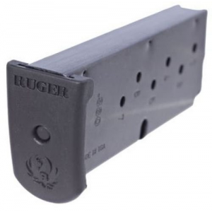 Ruger Handgun Magazine for LC380 w/Finger Plate .380 Auto 7rds Black