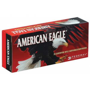 Federal American Eagle Rifle Ammunition .30-06 Sprg 150 gr FMJBT 2910 fps – 20/box
