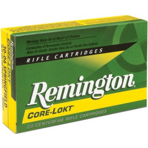 Remington Core-Lokt Rifle Ammunition .243 Win 100 gr PSP 2960 fps – 20/box