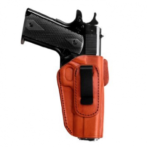 Tagua 4 in 1 Inside the Pants Holster without Thumb Break Ruger SR9 Compact Brown Right Hand