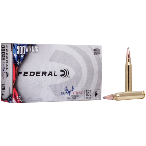 Federal Non-Typical Whitetail Rifle Ammunition .300 Win Mag 180 gr SP 20/ct