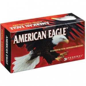 Federal American Eagle Handgun Ammunition .40 S&W 180 gr FMJ 1000 fps 200/ct