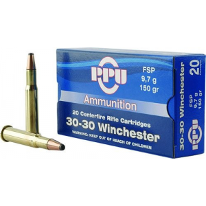 PPU Rifle Ammunition .30-06 Sprg 150 gr SP 2910 fps 20/ct