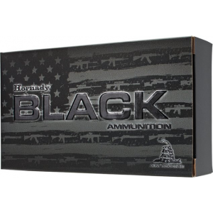 Hornady Steel Case Black Rifle Ammunition 7.62X39mm 123 gr SST 2350 fps 20/ct