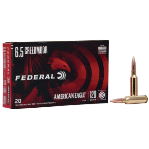 Federal American Eagle Rifle Ammunition 6.5 Creedmoor 120gr OTM 2900 20/ct