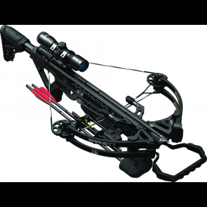 Barnett TS370 Compound Crossbow Package with Triggertech Assembly & 4x32mm Scope – Black