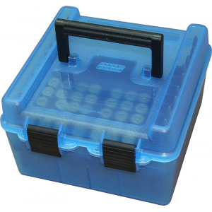 MTM Deluxe R-100 Series Rifle Ammo Box – 100 rd, Green