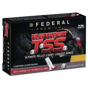 Federal Heavyweight TSS Shotshells 12ga 3-1/2″ 2-1/2oz 1000 fps #8/10 5/ct