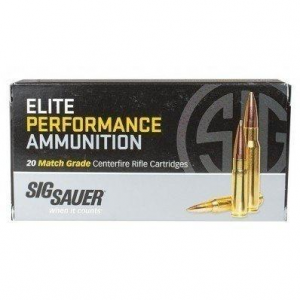 Sig Sauer Elite Match Rifle Ammunition .300 Win Mag 190gr OTM 20/ct