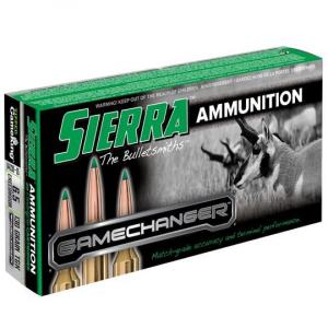 Sierra GameChanger Rifle Ammunition 6.5mm Creedmoor 130 gr TGK 2950 fps 20/ct