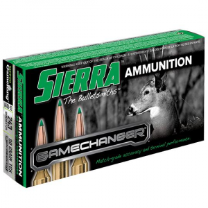 Sierra GameChanger Rifle Ammunition .243 Win 90 gr TGK 3200 fps 20/ct