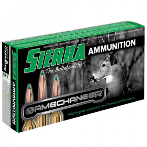 Sierra GameChanger Rifle Ammunition 300 Win Mag 180 gr TGK 20/ct