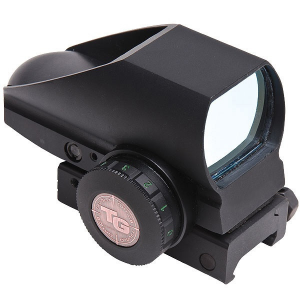 Truglo Tru-Brite Dual Color Open Red Dot Sight – 24x34mm 5 MOA Red/Green Dot Black