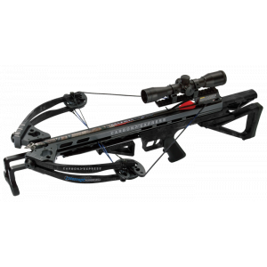 Carbon Express Intercept Supercoil Crossbow Package with 4×32 Scope – Carbon Black